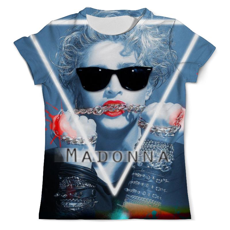 Футболка с полной запечаткой (мужская) Printio Мадонна (madonna) рюкзак с полной запечаткой printio мадонна
