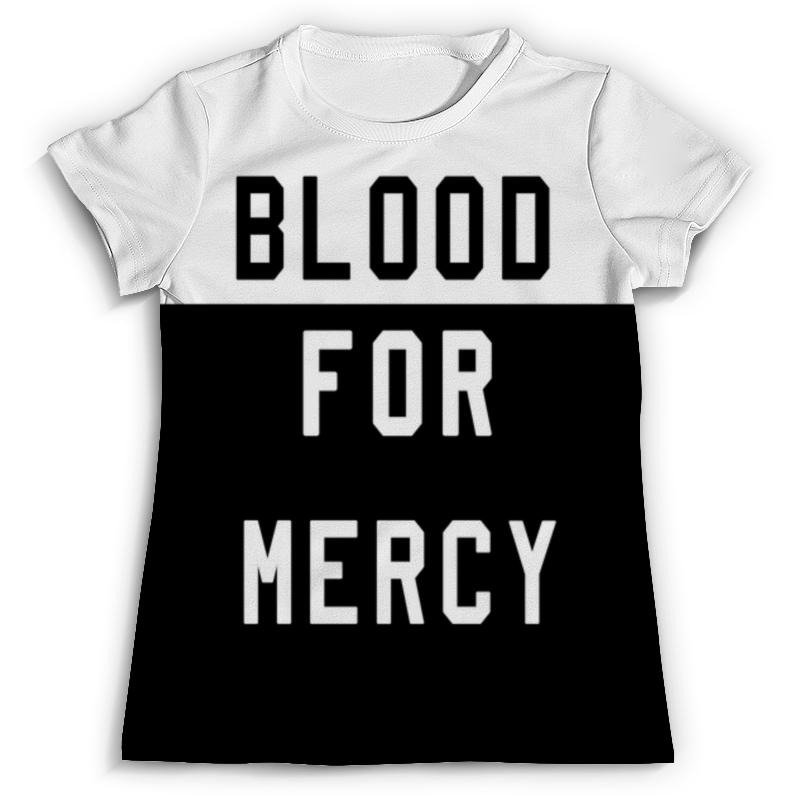 цена Футболка с полной запечаткой Printio Yellow claw blood for mercy онлайн в 2017 году