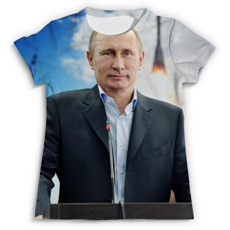 Футболка с полной запечаткой (мужская) Printio Путин (putin) футболка с полной запечаткой для мальчиков printio президент россии в в путин mr putin