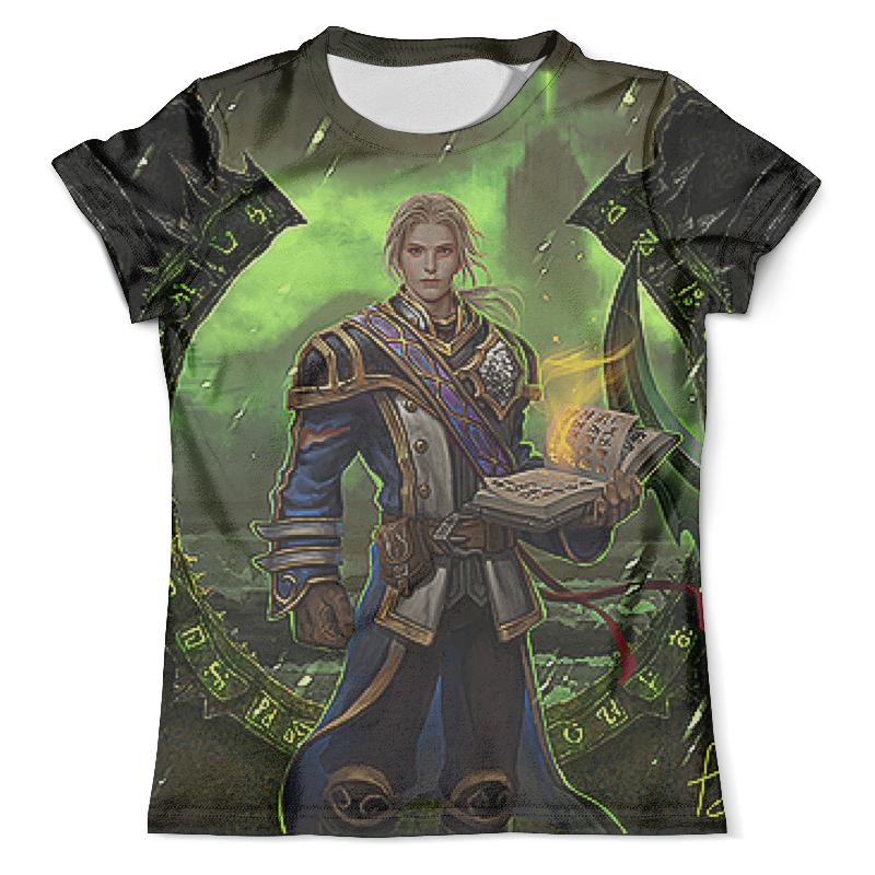Футболка с полной запечаткой (мужская) Printio World of warcraft legion футболка с полной запечаткой для девочек printio legion commander