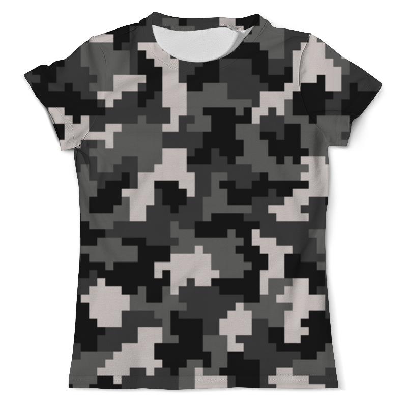 Футболка с полной запечаткой (мужская) Printio Пиксельный камуфляж футболка с полной запечаткой мужская printio пиксельный разрыв я в порядке