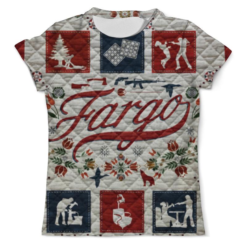 Футболка с полной запечаткой (мужская) Printio Фарго / fargo