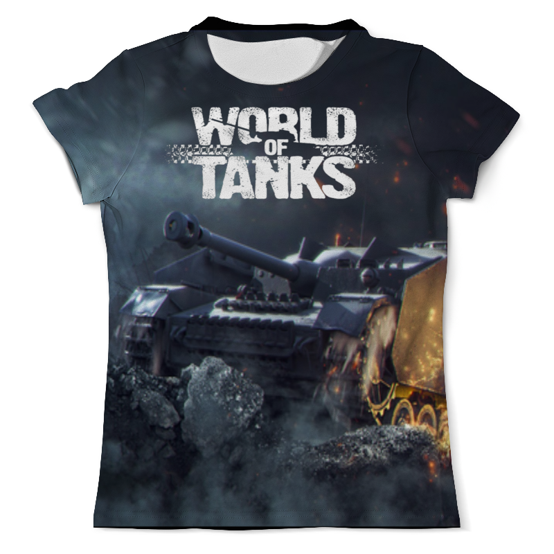 Printio World of tanks футболка с полной запечаткой мужская printio солдаты смерти