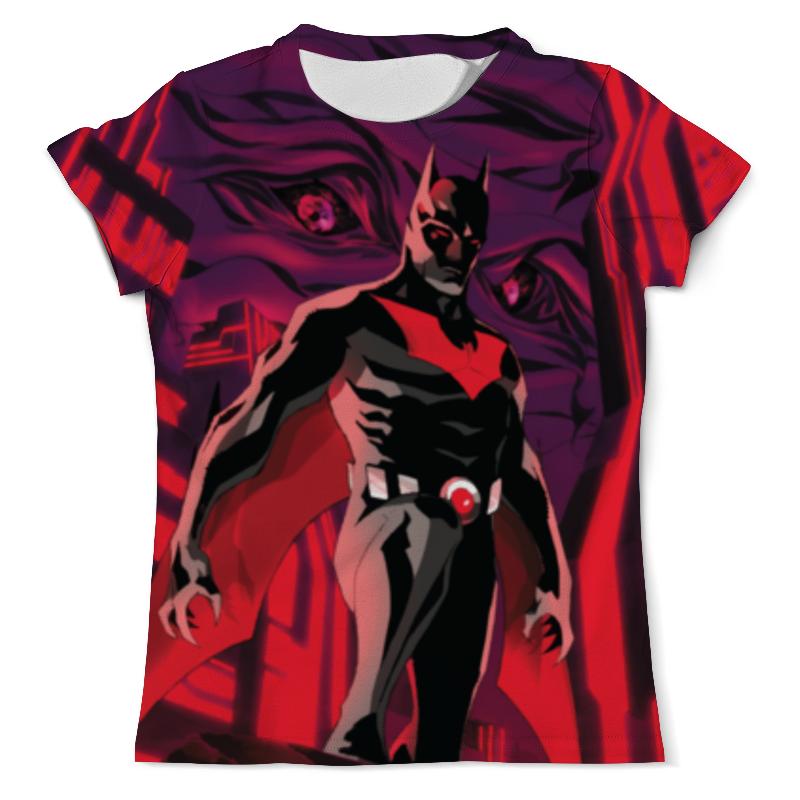 Футболка с полной запечаткой (мужская) Printio Batman beyond / бэтмен будущего лонгслив printio batman beyond бэтмен будущего