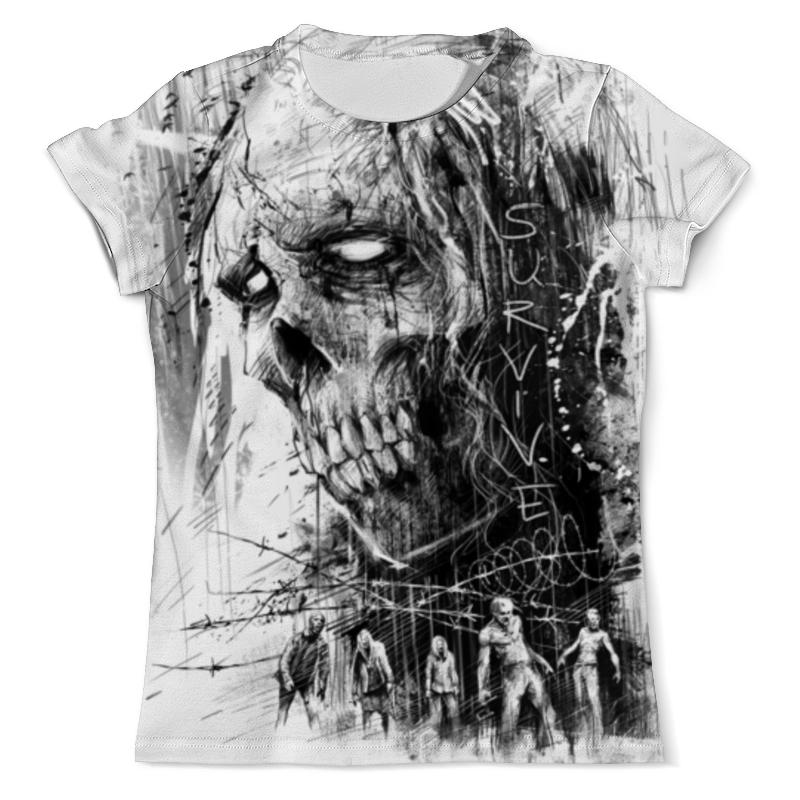 Футболка с полной запечаткой (мужская) Printio Зомби футболка с полной запечаткой мужская printio убей зомби