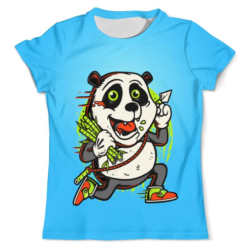 Printio Крези панда футболка с полной запечаткой мужская printio панда