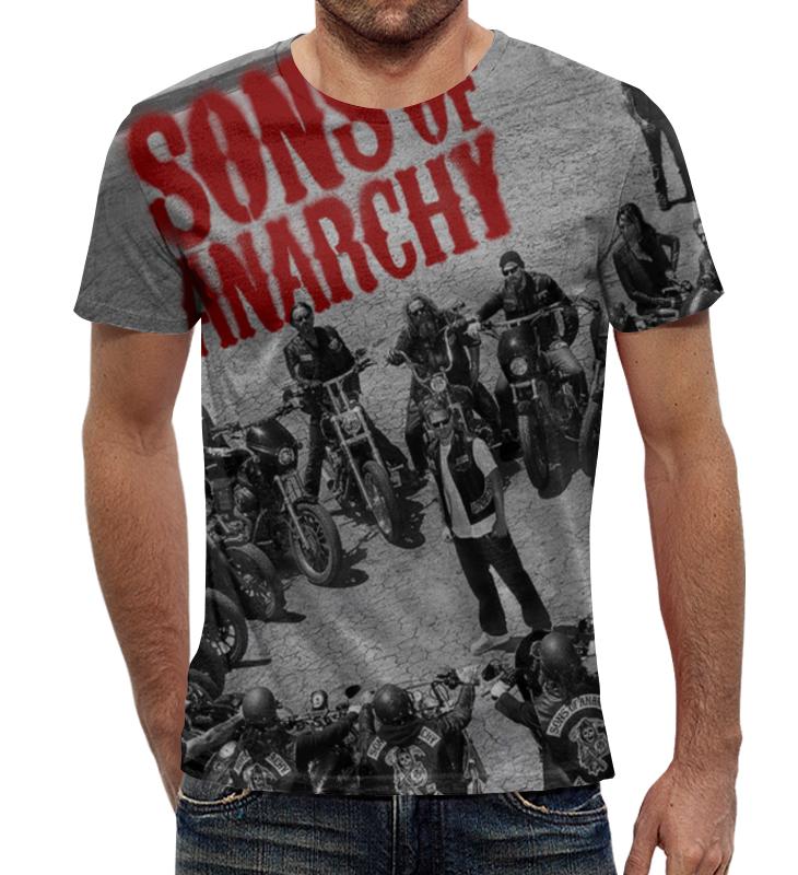 Футболка с полной запечаткой Printio Сыны анархии / sons of anarchy фартук с полной запечаткой printio сыны анархии