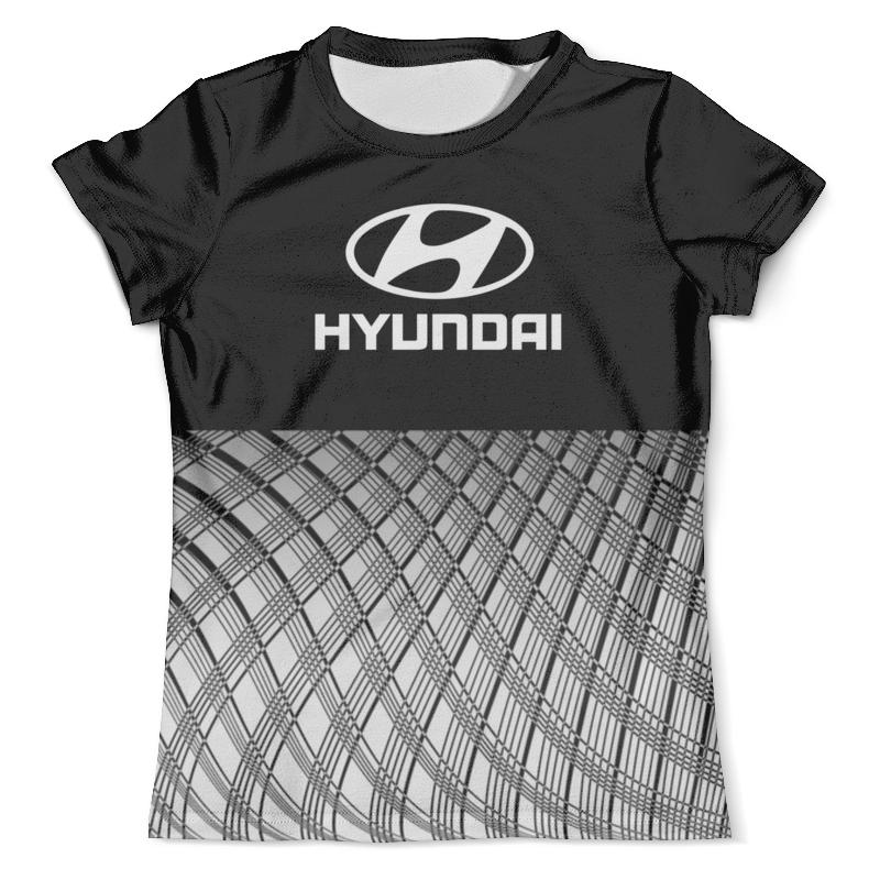 Футболка с полной запечаткой (мужская) Printio Hyundai