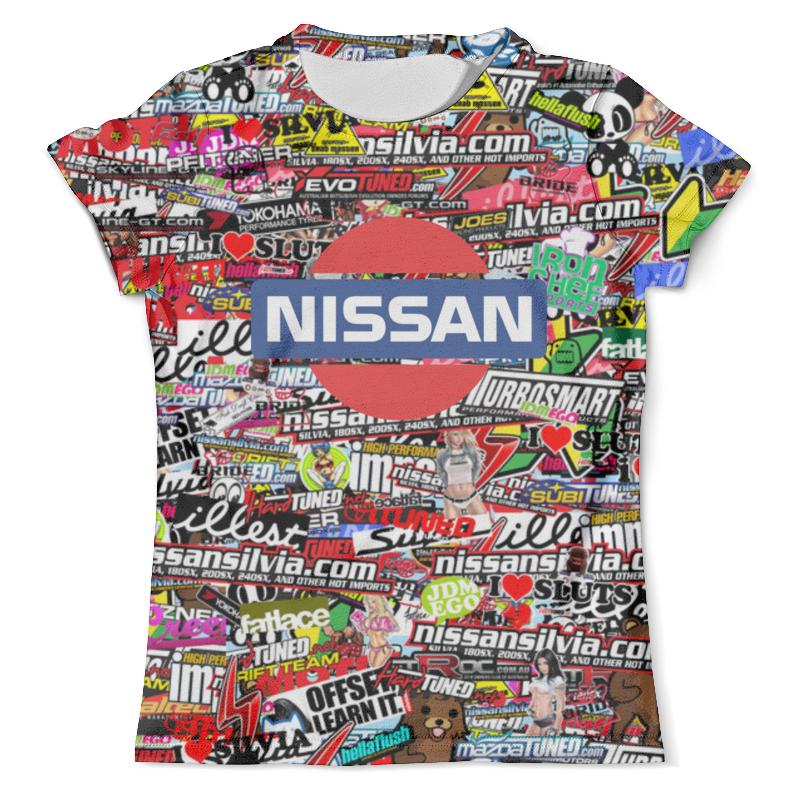 Футболка с полной запечаткой (мужская) Printio Nissan_arsb футболка с полной запечаткой мужская printio фрактальная эзотерика мандалы
