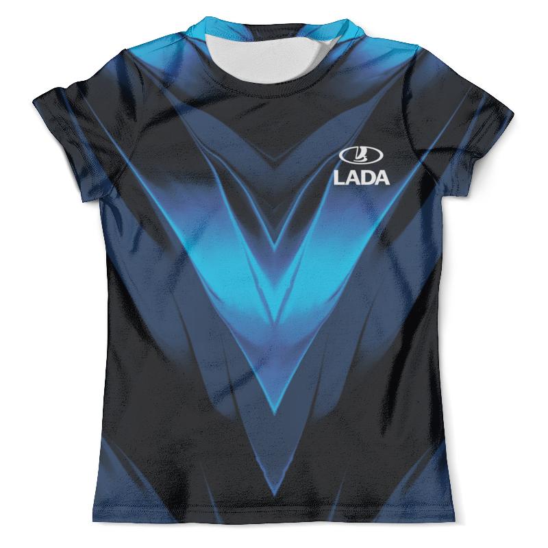 Футболка с полной запечаткой (мужская) Printio Авто lada футболка авто opel