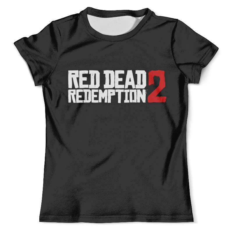 Футболка с полной запечаткой (мужская) Printio Red dead redemption 2 цена и фото