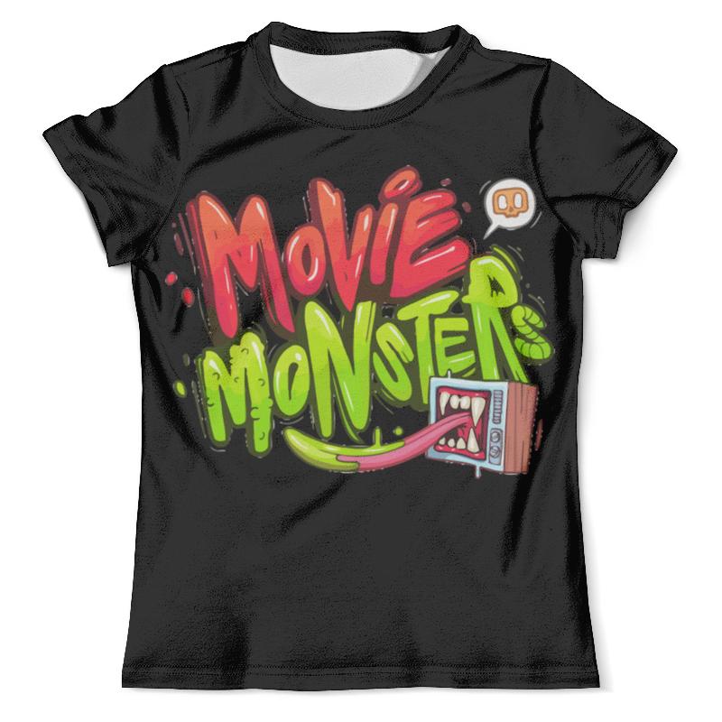 Футболка с полной запечаткой (мужская) Printio Movie monsters