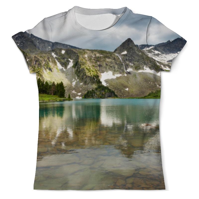 цена Printio Озеро в горах онлайн в 2017 году