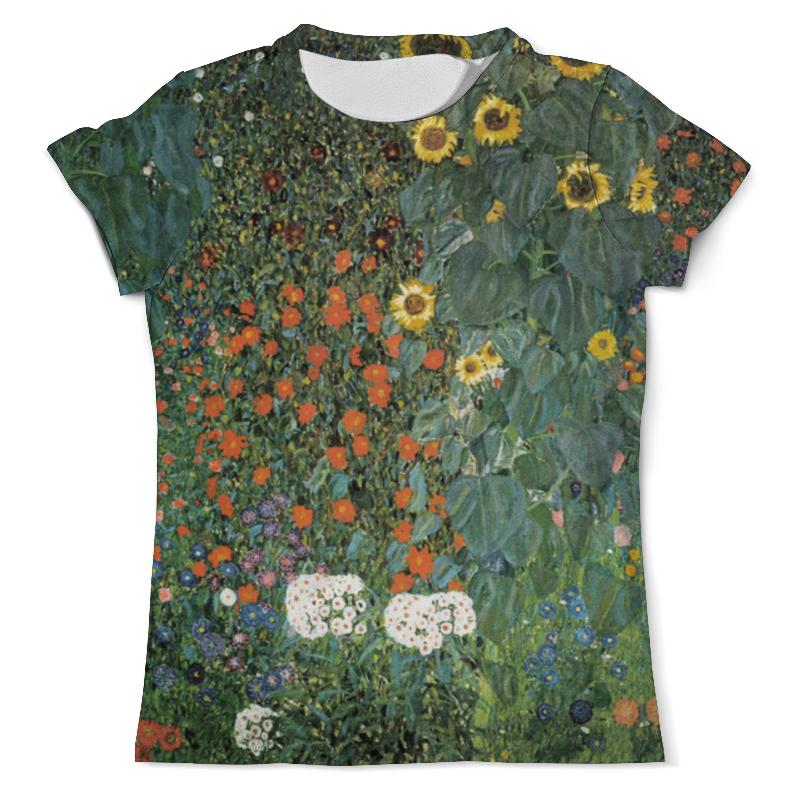 Printio Полисадник с подсолнухами (густав климт) футболка с полной запечаткой мужская printio большой тополь ii густав климт