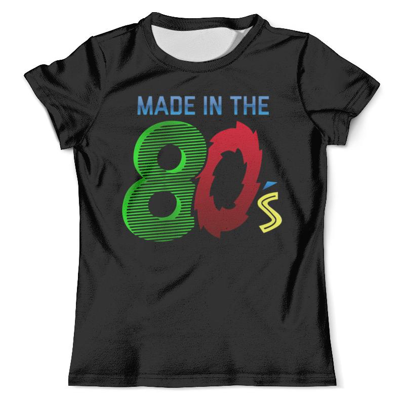 Футболка с полной запечаткой (мужская) Printio Made in the 80s цена и фото