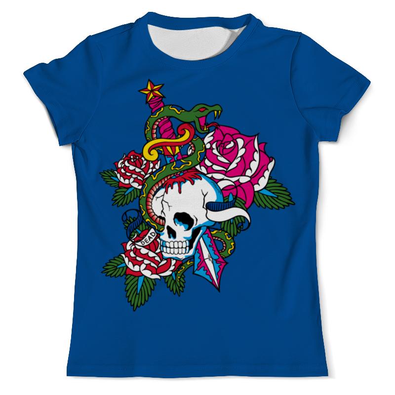 Printio Череп футболка с полной запечаткой мужская printio змея