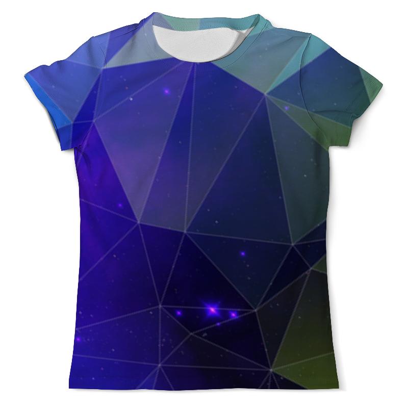 Printio Космический треугольник футболка с полной запечаткой мужская printio космический экстрим