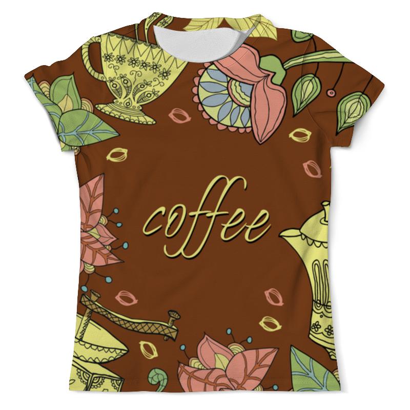 Футболка с полной запечаткой (мужская) Printio Я люблю кофе футболка классическая printio я люблю кофе