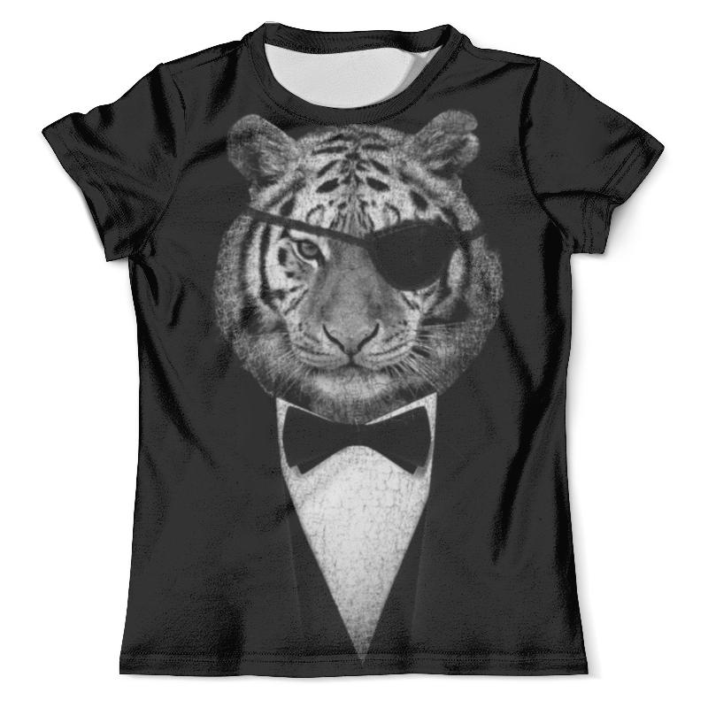 Футболка с полной запечаткой (мужская) Printio Одноглазый тигр футболка с полной запечаткой мужская printio красочный тигр