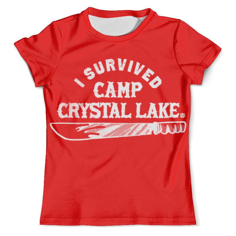 Футболка с полной запечаткой (мужская) Printio Camp crystal lake dongting lake 26 x40