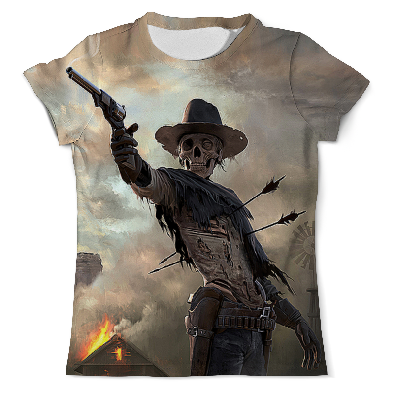 Printio Westernskull (3) футболка с полной запечаткой мужская printio westernskull 1