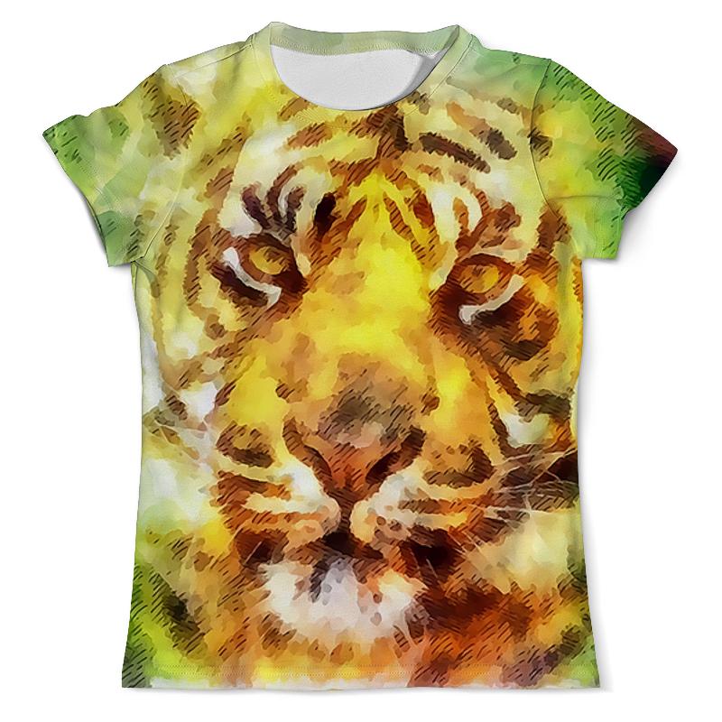 Printio Тигр футболка с полной запечаткой мужская printio мальчик и тигр