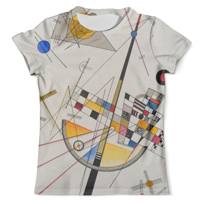 Футболка с полной запечаткой (мужская) Printio Тонкое напряжение (василий кандинский) футболка print bar эзотерика тело тонкое