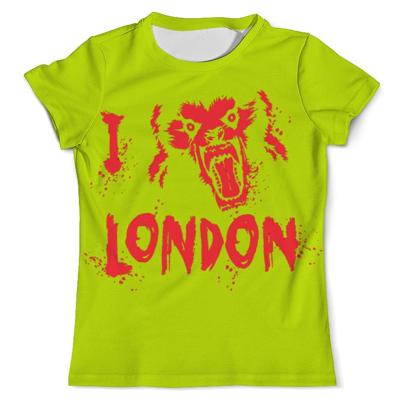 Футболка с полной запечаткой (мужская) Printio Я люблю лондон футболка с полной запечаткой мужская printio я тебя люблю арт