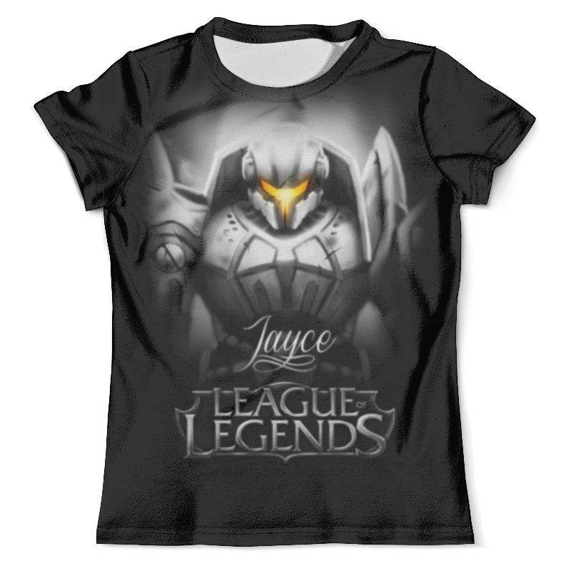 Футболка с полной запечаткой (мужская) Printio League of legends. джейс game league of legends ashe the frost archer arrow bow model toy set collection decors great gift
