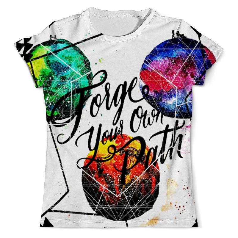Printio Forge your own path футболка мужская its own brand christian audigier edhardy