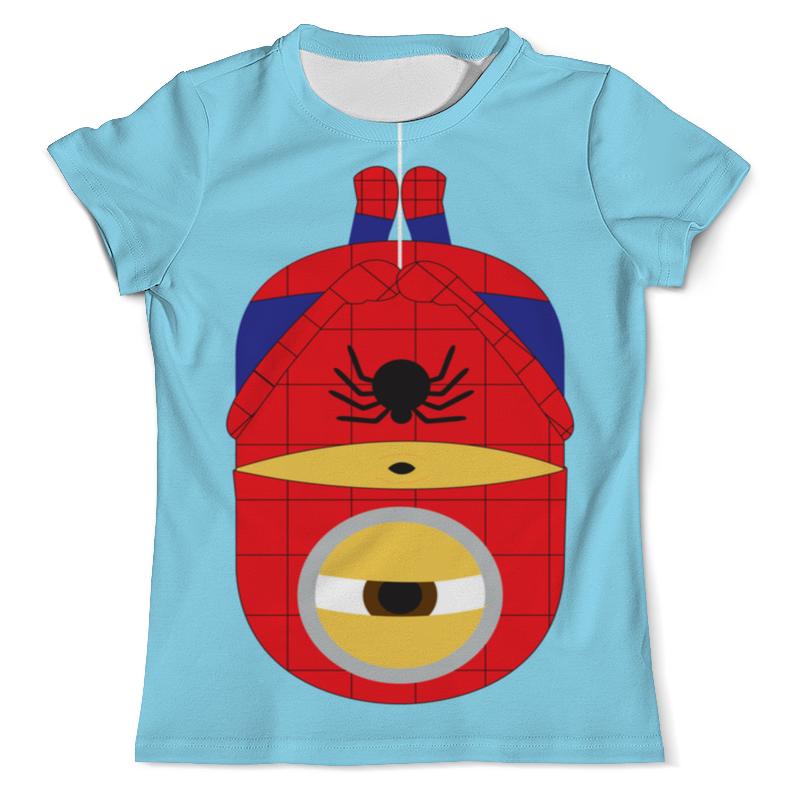 Футболка с полной запечаткой (мужская) Printio Человек паук-миньон футболка с полной запечаткой для мальчиков printio человек паук миньон