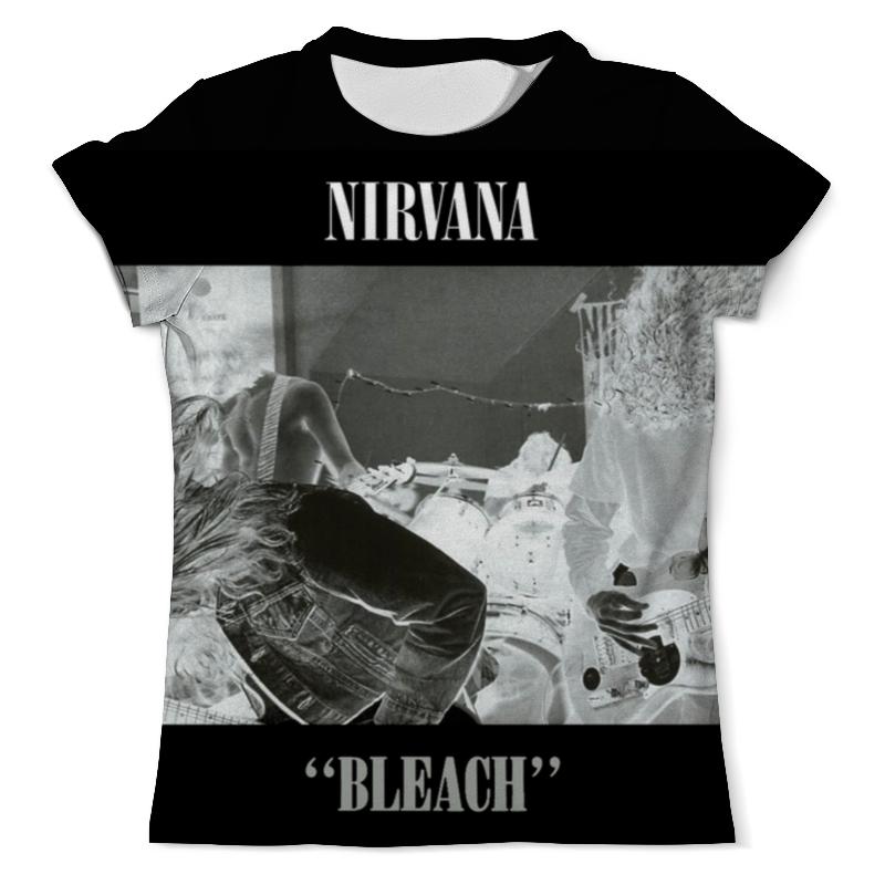 Футболка с полной запечаткой (мужская) Printio Nirvana bleach full print футболка print bar ева