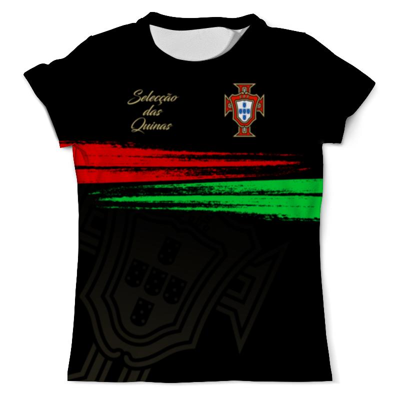 Футболка с полной запечаткой (мужская) Printio Сборная португалии обувь в португалии