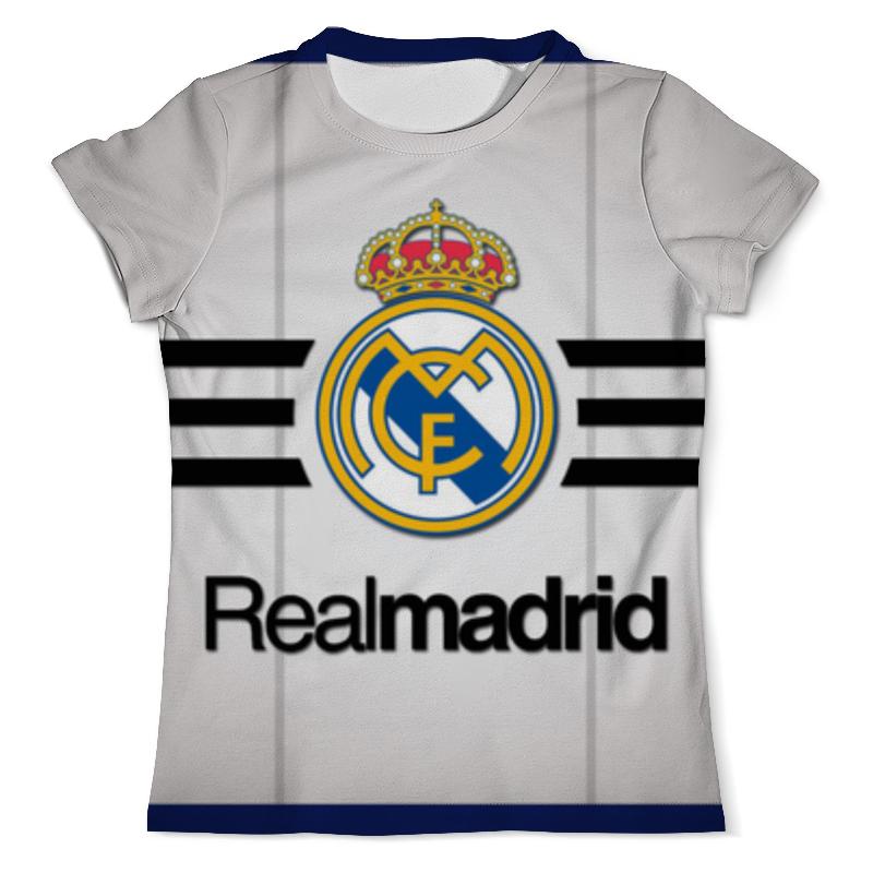 Футболка с полной запечаткой (мужская) Printio Реал мадрид рубашка поло с полной запечаткой printio реал мадрид