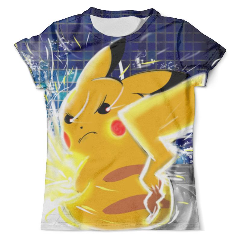 Футболка с полной запечаткой (мужская) Printio Покемон / pokemon футболка с полной запечаткой мужская printio pokemon eevee покемон иивии