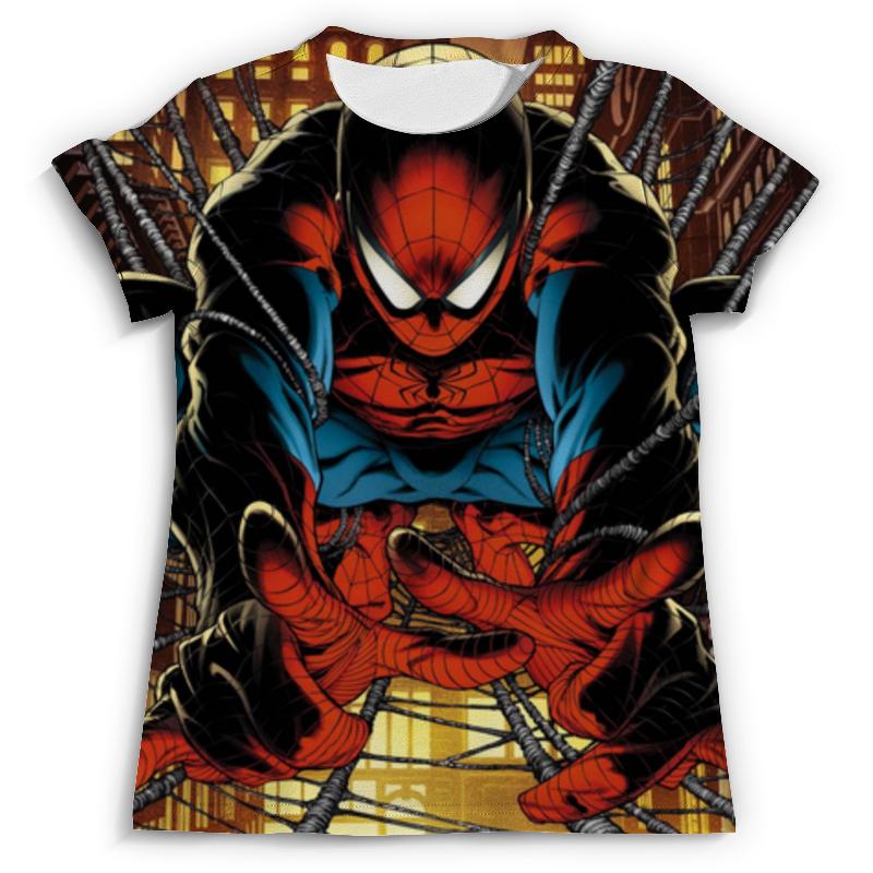 Футболка с полной запечаткой (мужская) Printio Человек-паук 76057 человек паук последний бой воинов паутины