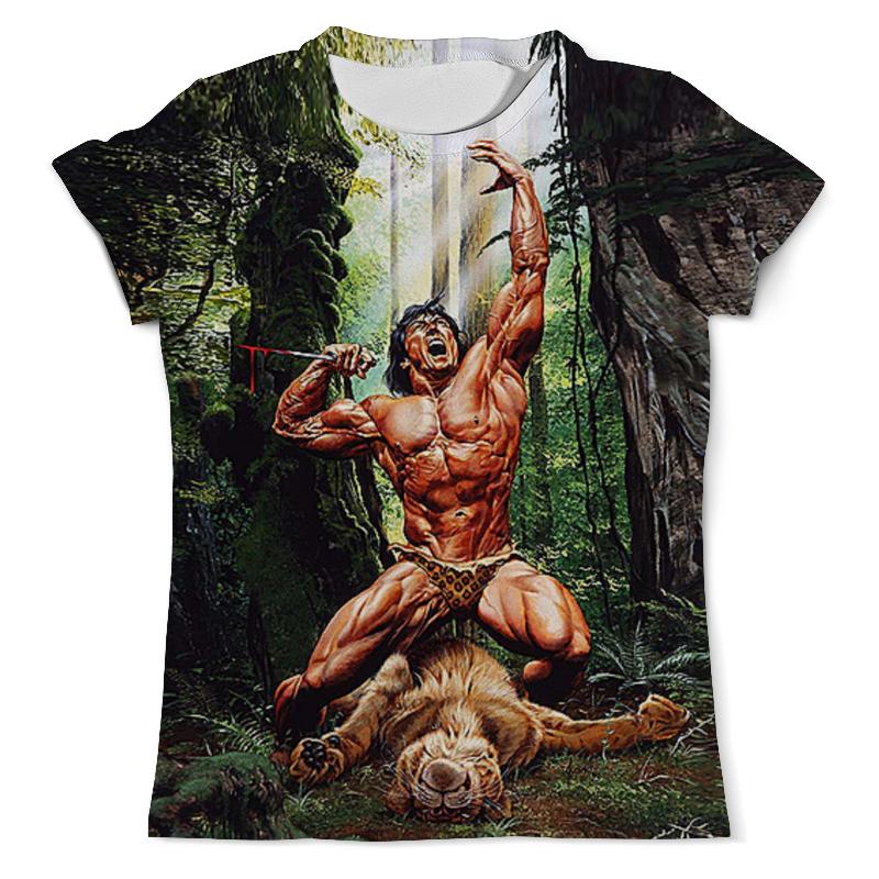 Printio Король джунглей футболка с полной запечаткой мужская printio книга джунглей