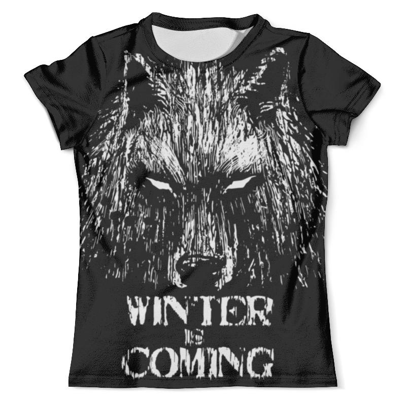 Футболка с полной запечаткой (мужская) Printio Зима близко футболка с полной запечаткой для девочек printio зима близко