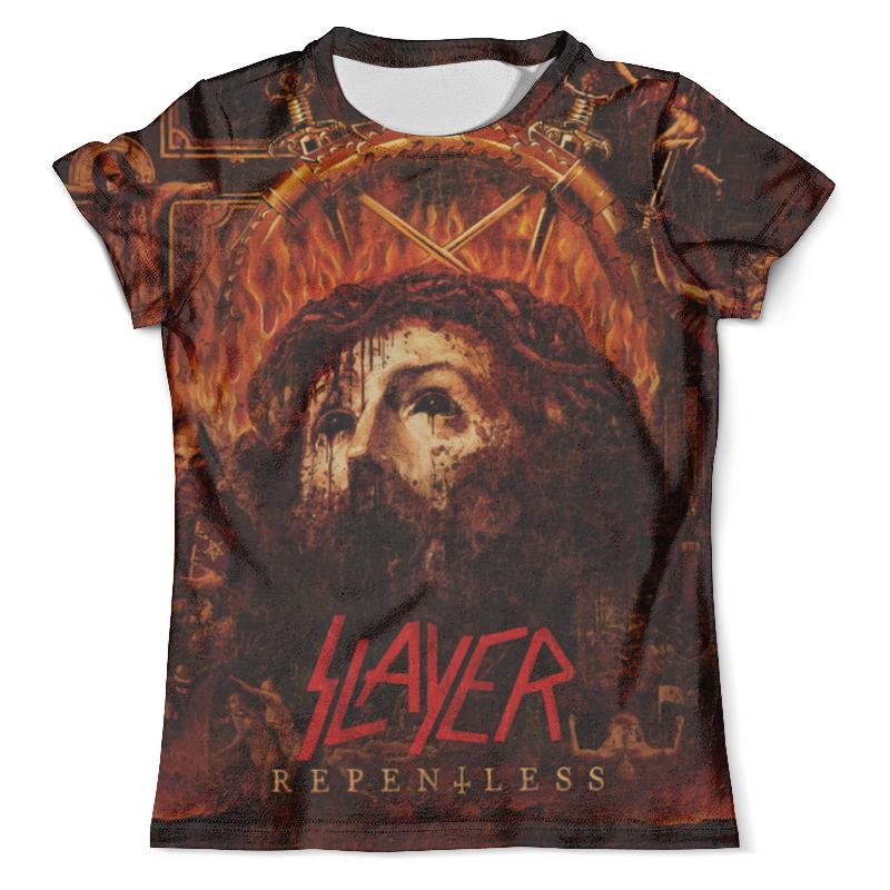 Футболка с полной запечаткой (мужская) Printio Slayer repentless 2015 (1) футболка с полной запечаткой мужская printio slayer repentless 2015