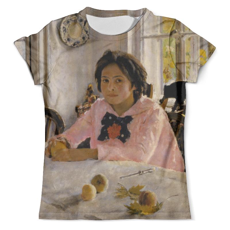 Футболка с полной запечаткой (мужская) Printio Девочка с персиками футболка с полной запечаткой мужская printio фрактальная эзотерика мандалы