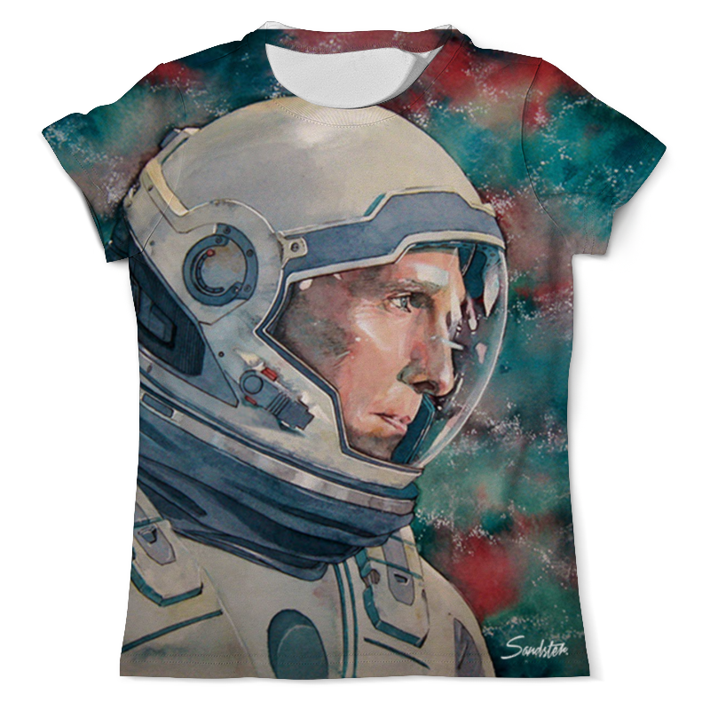 Футболка с полной запечаткой (мужская) Printio Interstellar футболка с полной запечаткой мужская printio battlefield v