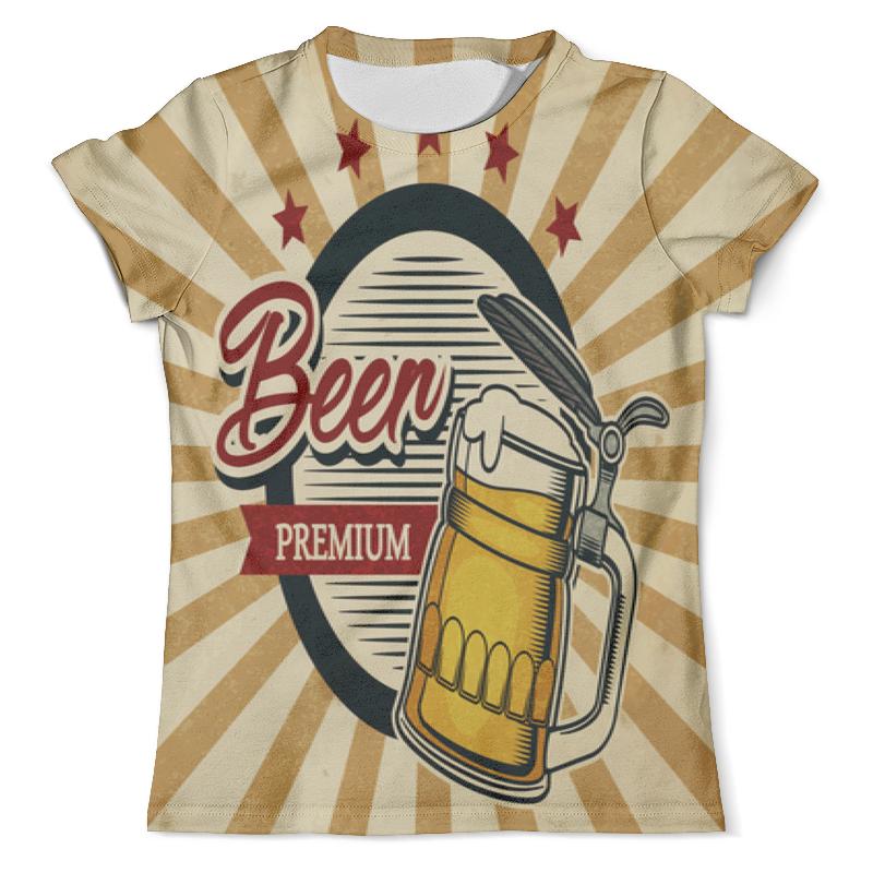 Футболка с полной запечаткой (мужская) Printio Beer premium halloween costume accessory props beer mug hat yellow white multi colored