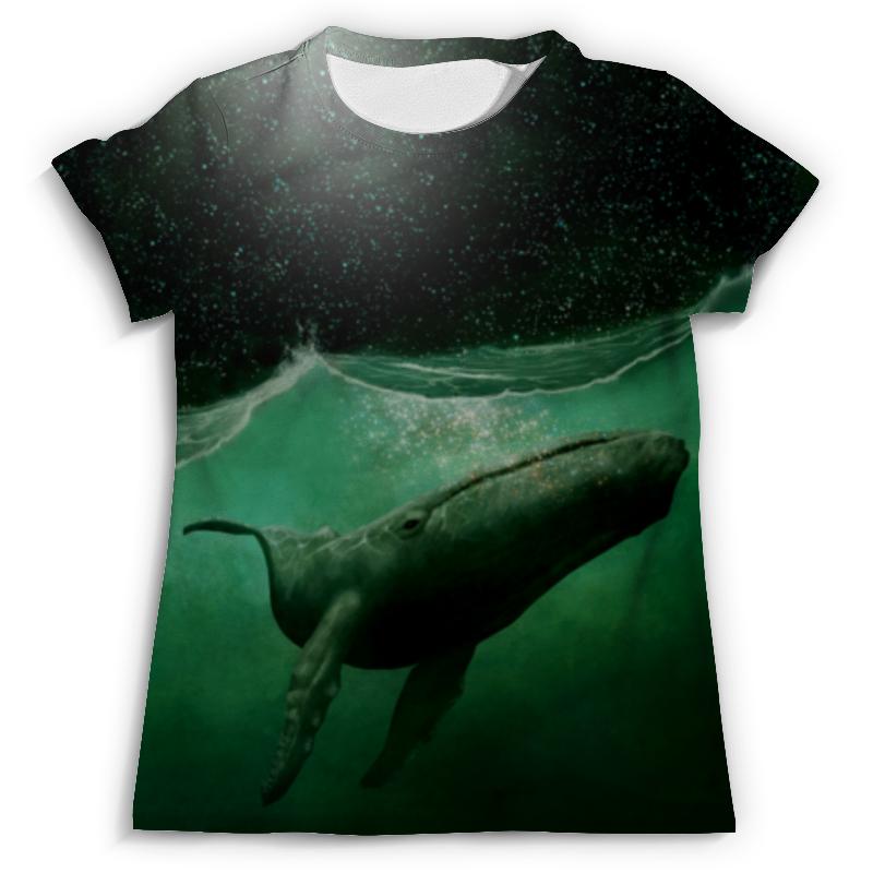 Футболка с полной запечаткой (мужская) Printio Кит!!! футболка для беременных printio кит ричардс