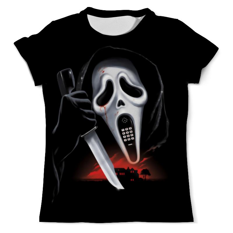 Printio Scream футболка с полной запечаткой мужская printio scream phone