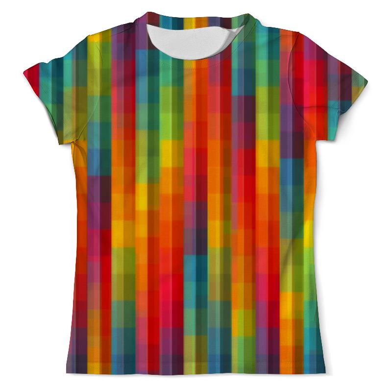 Футболка с полной запечаткой (мужская) Printio Цветные полосы юбка карандаш printio цветные полосы