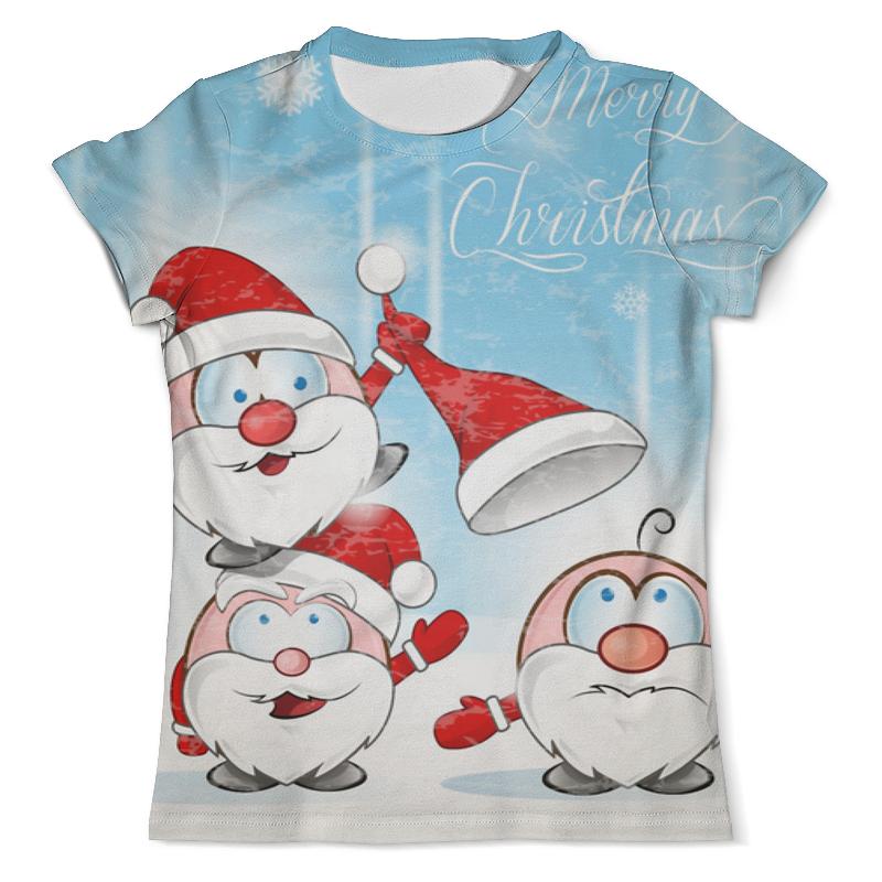 Printio Рождество футболка с полной запечаткой мужская printio рождество христово