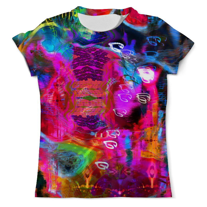 Футболка с полной запечаткой (мужская) Printio Abstract raster 372