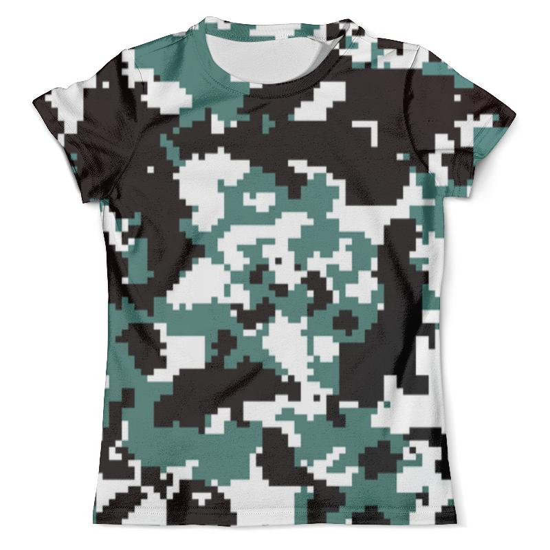 Футболка с полной запечаткой (мужская) Printio Pixel camouflage xintown camouflage winter long sleeved