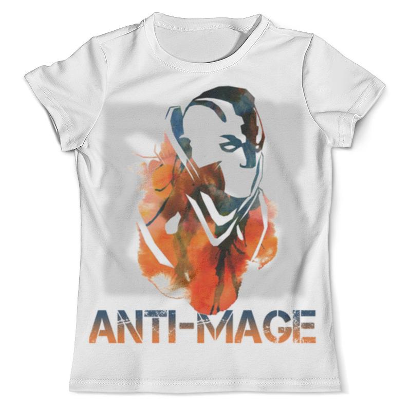 Футболка с полной запечаткой (мужская) Printio Anti-mage dota 2 футболка с полной запечаткой мужская printio пудж мясник dota 2