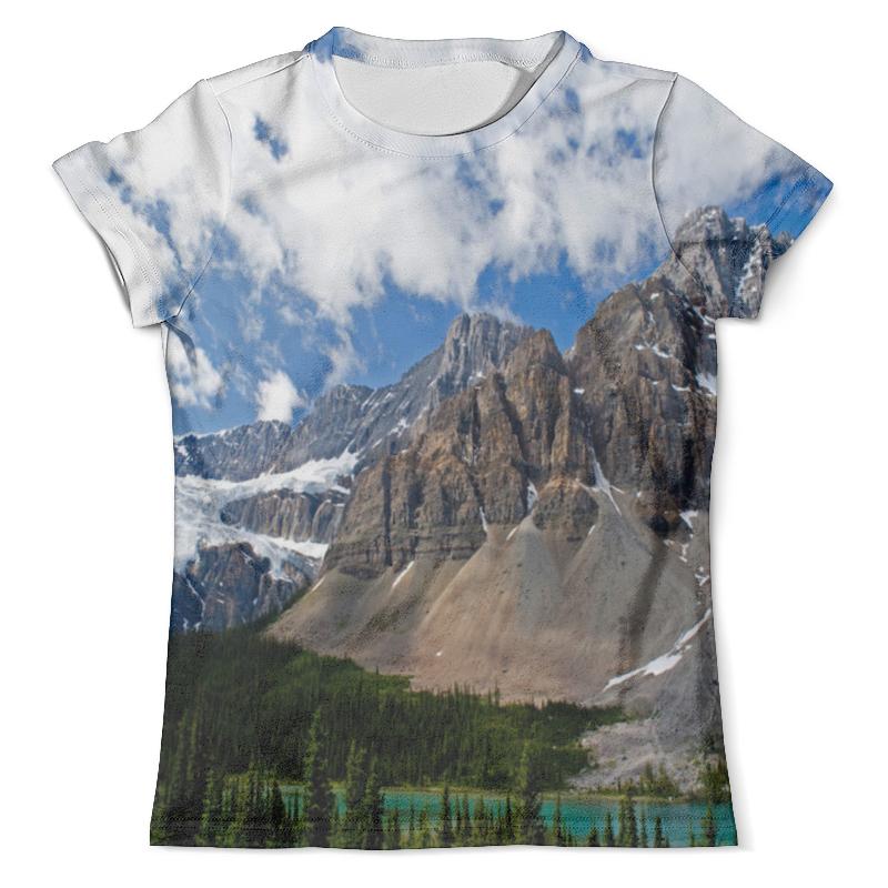Футболка с полной запечаткой (мужская) Printio Лес и горы футболка с полной запечаткой мужская printio сумрачный лес